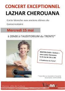 CHEROUANA, Lazhar • Concert Vienne 2013.05.15 • affiche §l